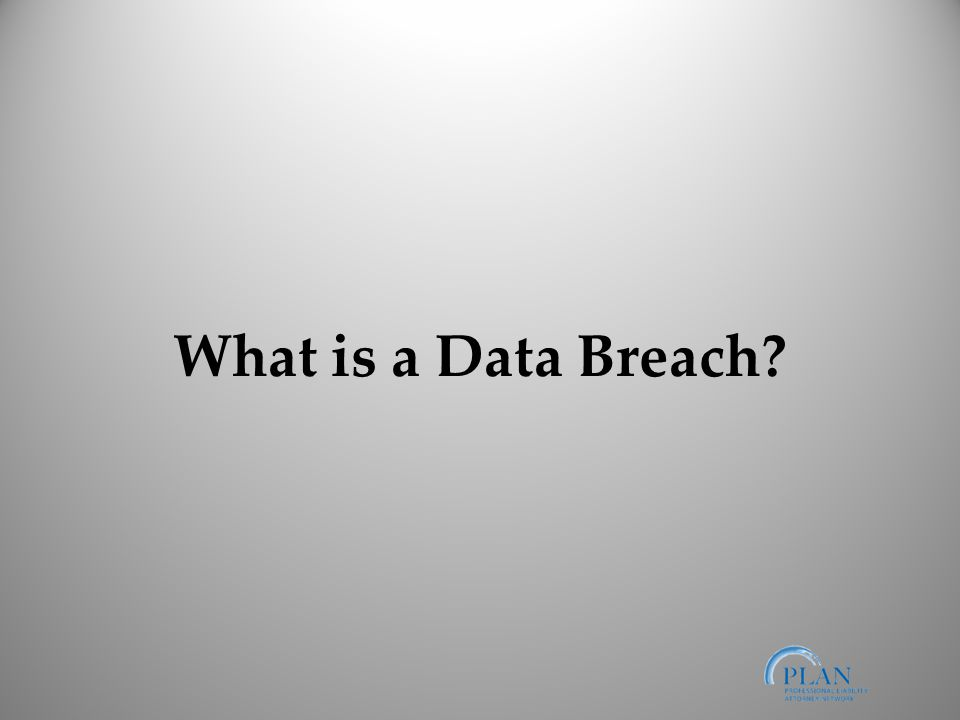 What is a Data Breach