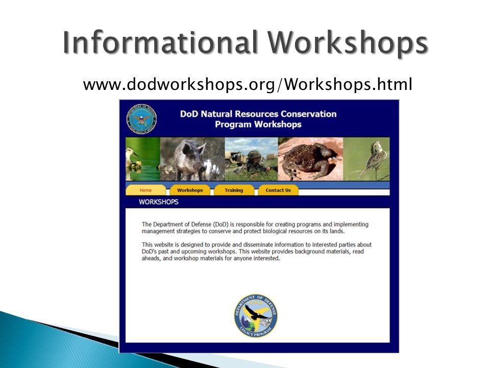 www.dodworkshops.org/Workshops.html