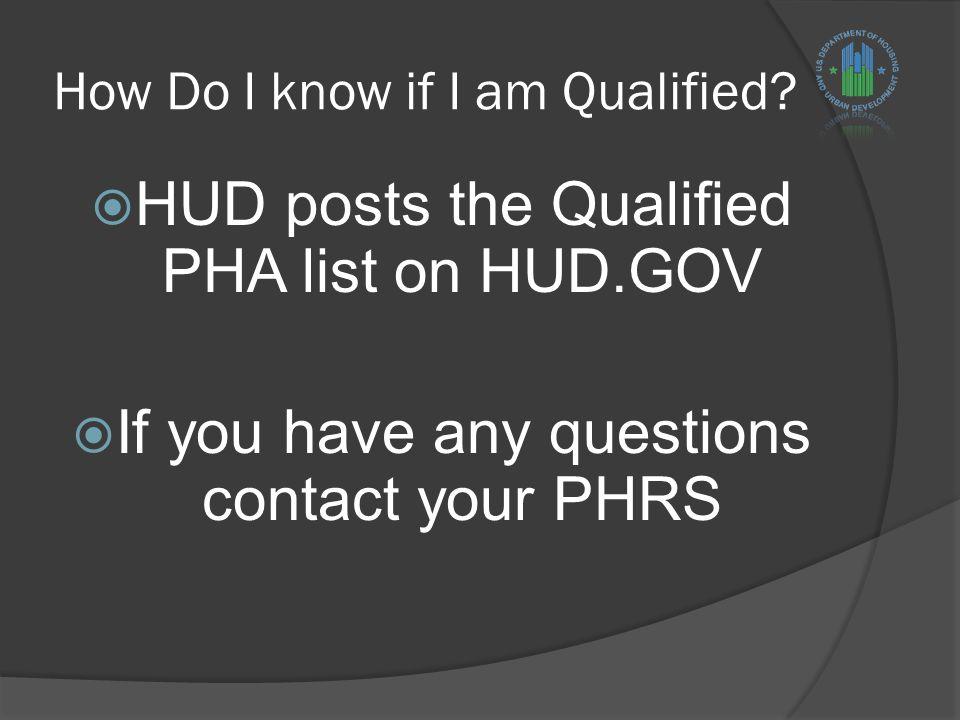 How Do I know if I am Qualified.
