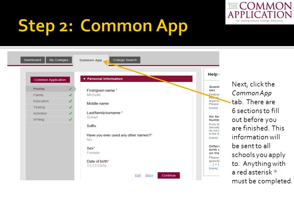  If you need to make changes to your application after submission, you have to contact the college's admissions office to do so  If you apply to other colleges after you submit one application, you can make changes and then submit to another  Keep an eye on your email – check at least weekly  Don't miss deadlines for documents such as transcripts, school forms, letters of recommendation, portfolios – it can cost you your admission!