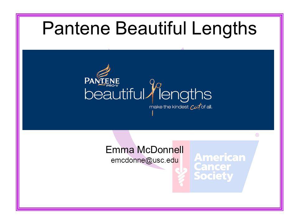 Pantene Beautiful Lengths Emma McDonnell emcdonne@usc.edu