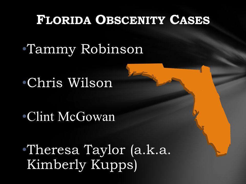 Tammy Robinson Chris Wilson Clint McGowan Theresa Taylor (a.k.a.