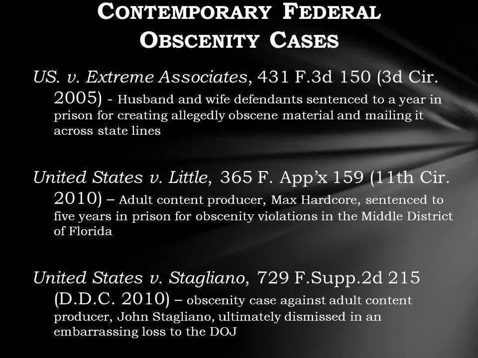 US. v. Extreme Associates, 431 F.3d 150 (3d Cir.