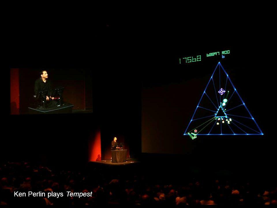 Ken Perlin plays Tempest