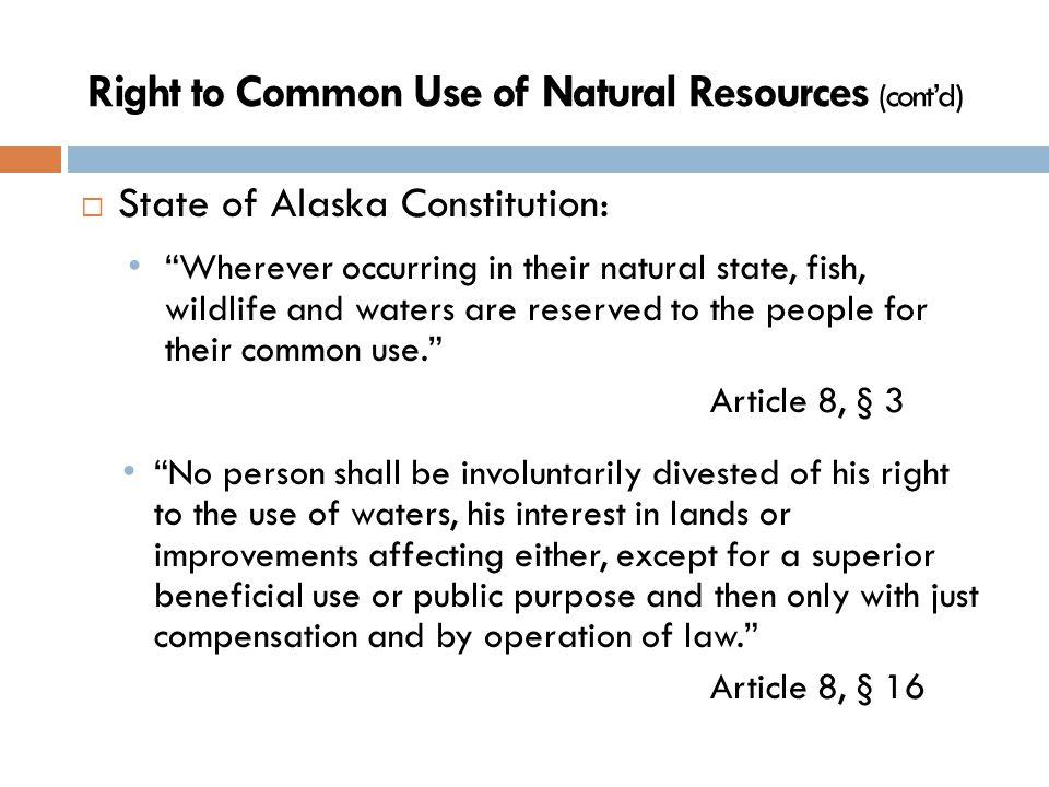 Three Laws Protecting Water and Wetlands National Environmental Protection Act (NEPA) 42 U.S.C.