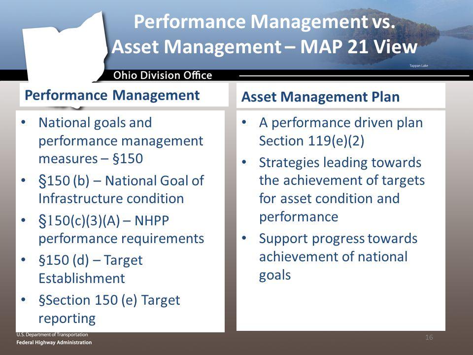 Performance Management vs.