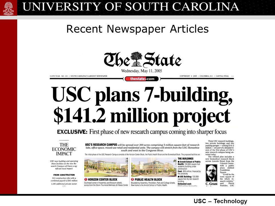 USC – Technology Horizon Center Plans University Private