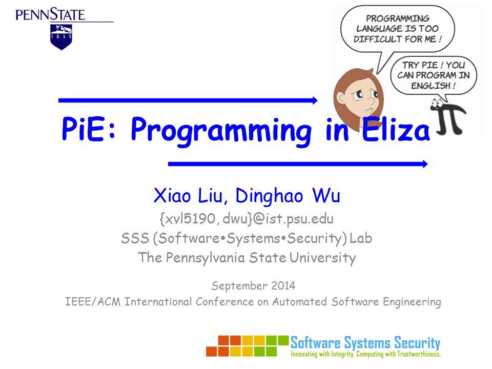 Outline Problem Description Background System PiE-Script Techniques Evaluation Future Work 2