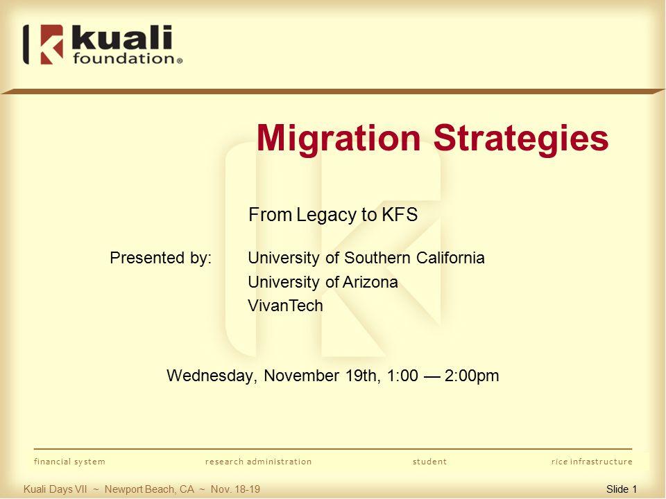 Kuali Days VII ~ Newport Beach, CA ~ Nov.