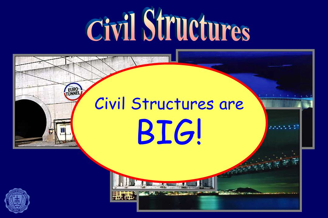 3 Buildings Dams Tunnels Bridges Domes Civil Structures are BIG!