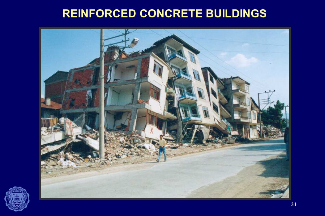 31 REINFORCED CONCRETE BUILDINGS