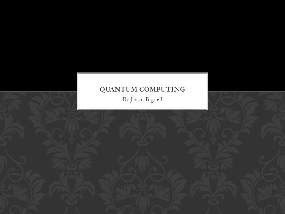 A quantum computer is a device for computation that makes direct use of quantum mechanical phenomena, such as superposition and entanglement, to perform operations on data INTRODUCTION