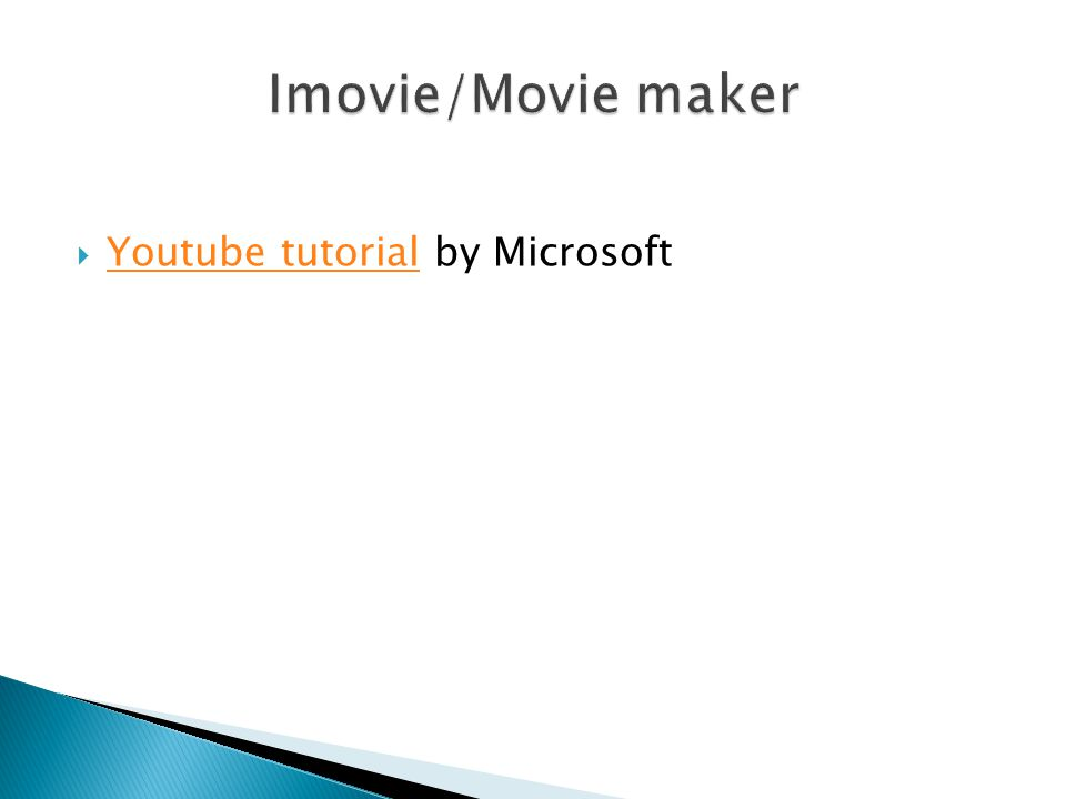 Youtube tutorial by Microsoft Youtube tutorial