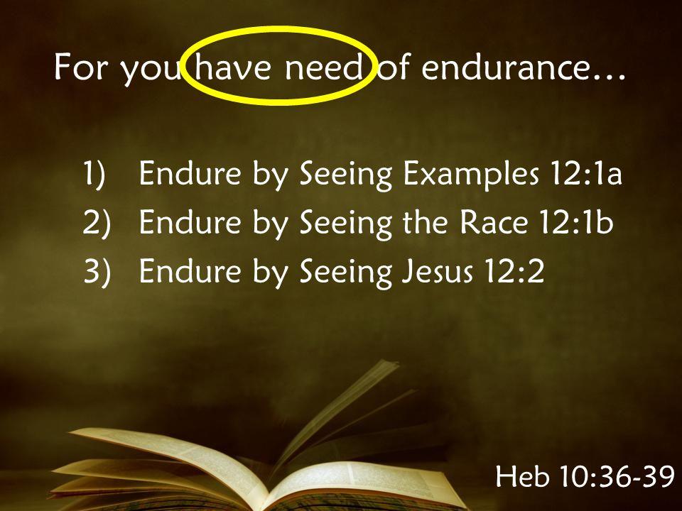 Enabling Example Looking unto Jesus….