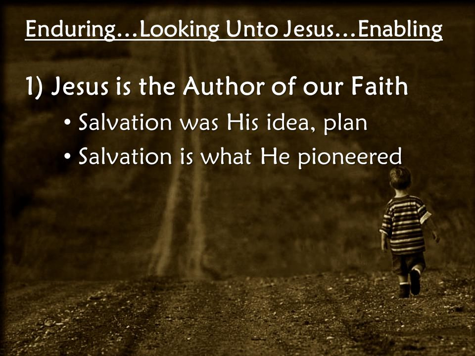 Hebrews 2:10 For it was fitting for Him, for whom are all things and by whom are all things, in bringing many sons to glory, to make the Captain of their salvation perfect through sufferings.