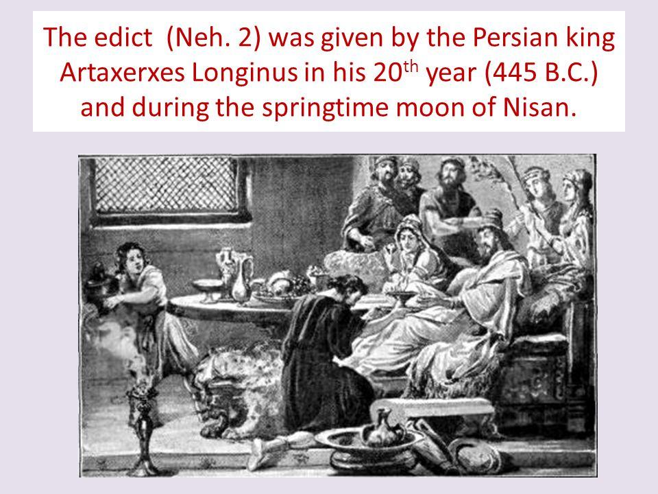 The edict (Neh.