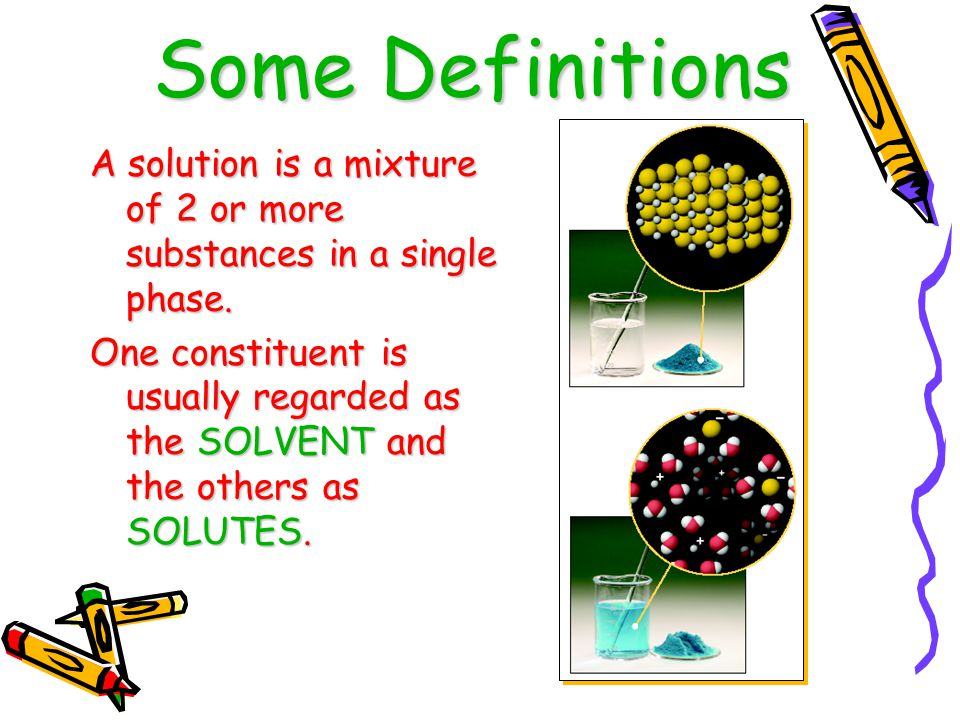 More properties of solutions Boiling Point elevation: Boiling point of a solution is higher then that of just the solvent.