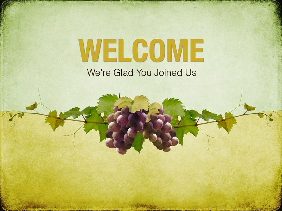 John 15:1-8 1 I am the true vine, and my Father is the husbandman.