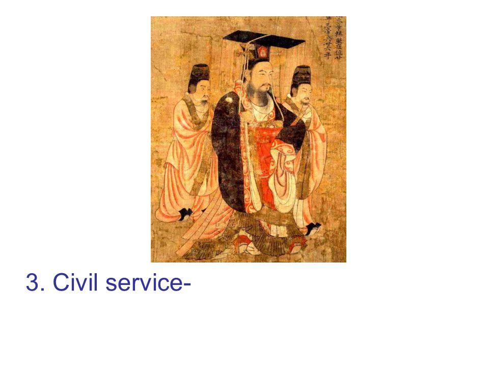 3. Civil service-