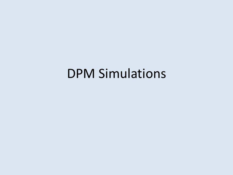 DPM Simulations