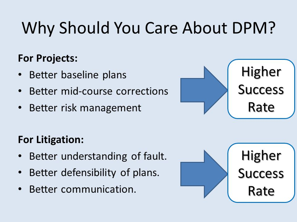 Why Should You Care About DPM.