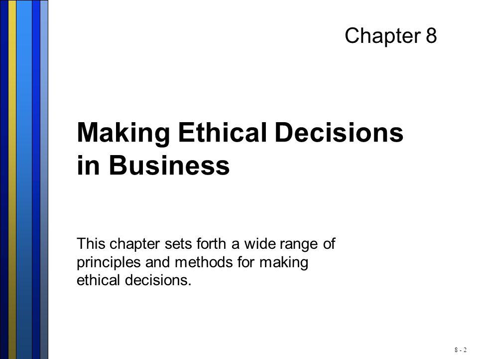 8 - 13 The Organization Ethic  Origination: Not credited.