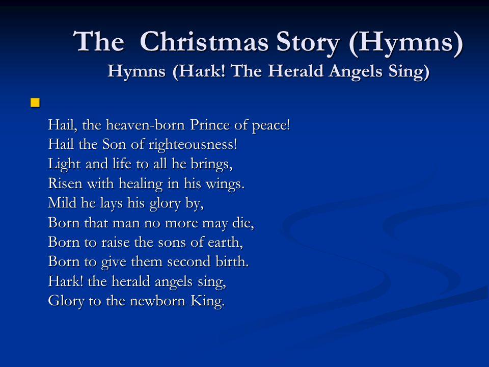 The Christmas Story (Hymns) Hymns (Hark.