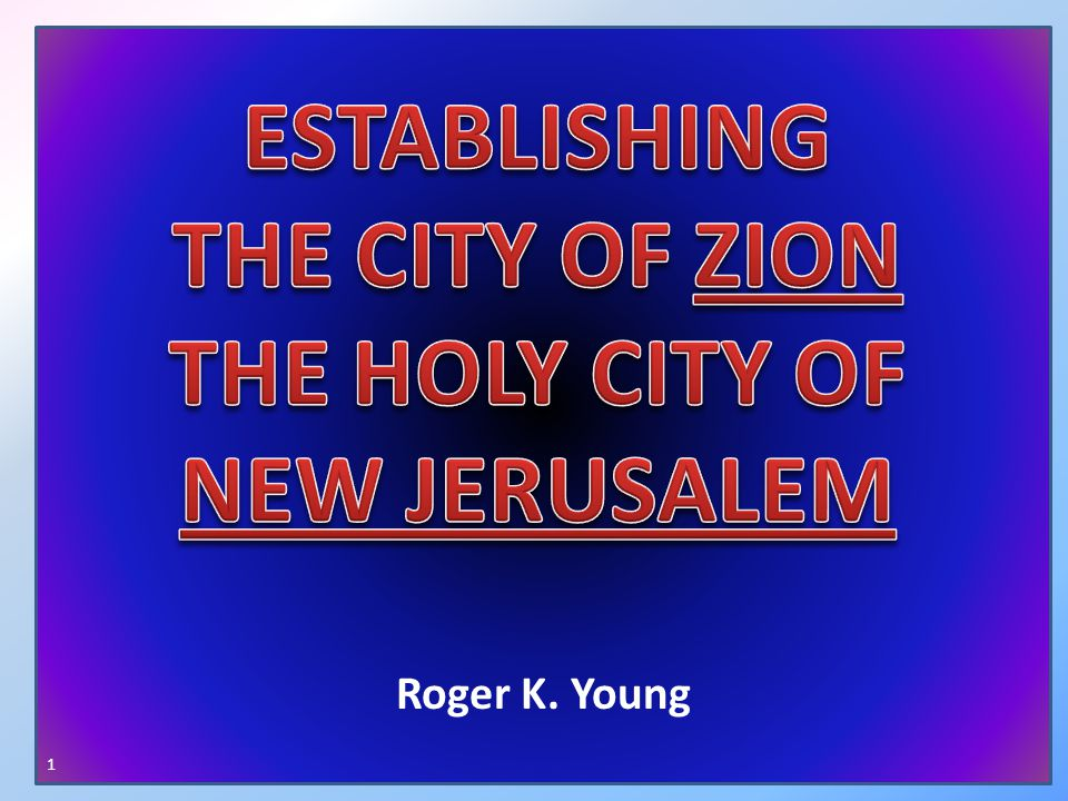 The priesthood is called to establish Zion.