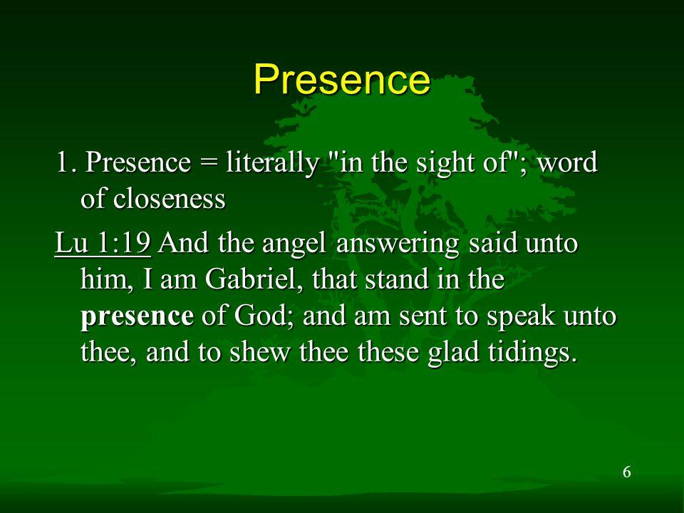 6 Presence 1.