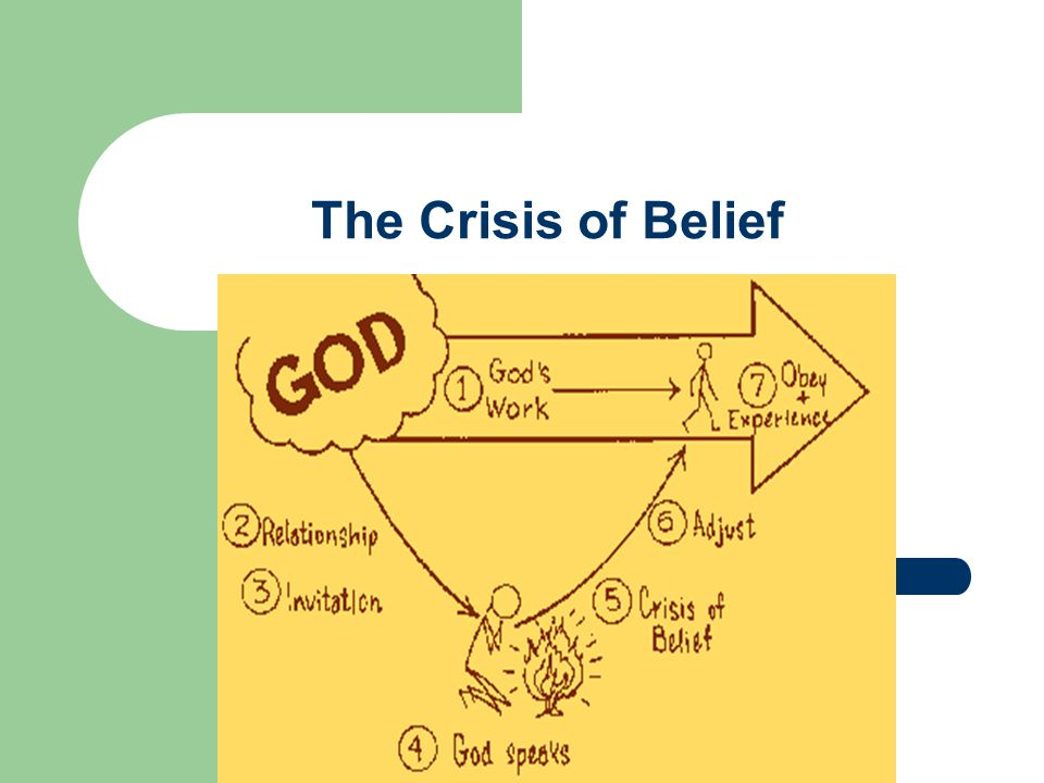The Crisis of Belief