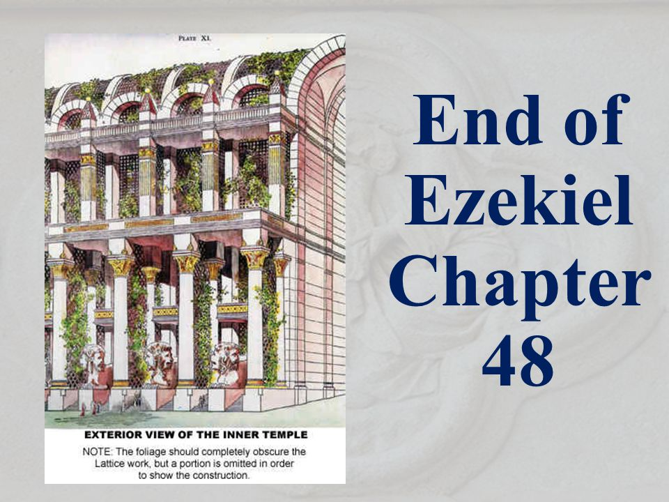 End of Ezekiel Chapter 48