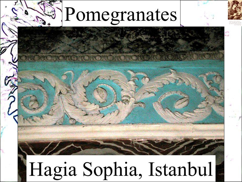 Pomegranates Hagia Sophia, Istanbul