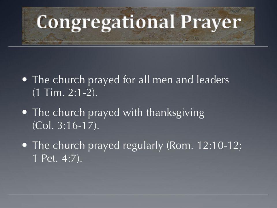 Do not pray with hypocrisy or to be seen of men (Matt.