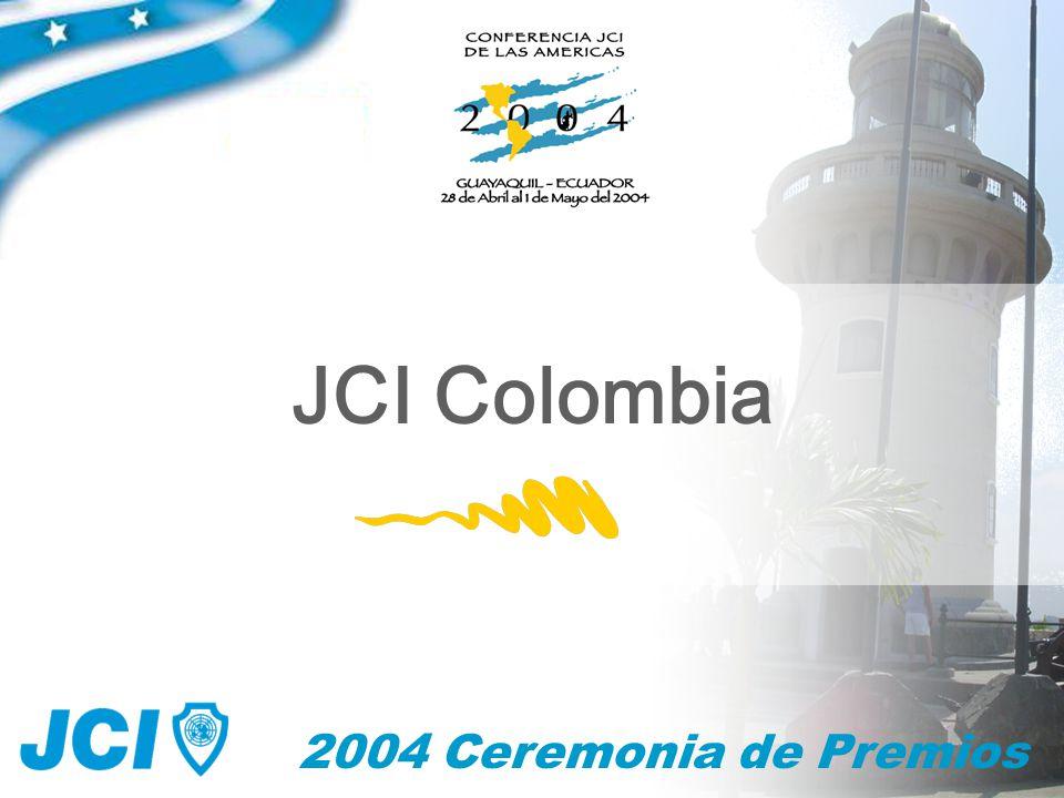 2004 Ceremonia de Premios JCI Colombia
