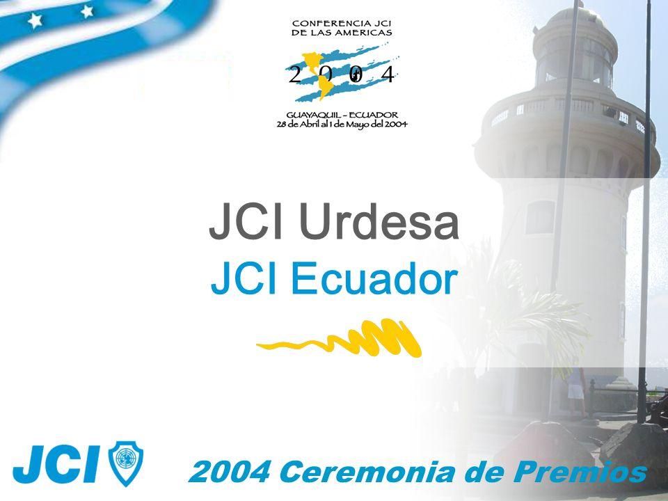 2004 Ceremonia de Premios JCI Urdesa JCI Ecuador