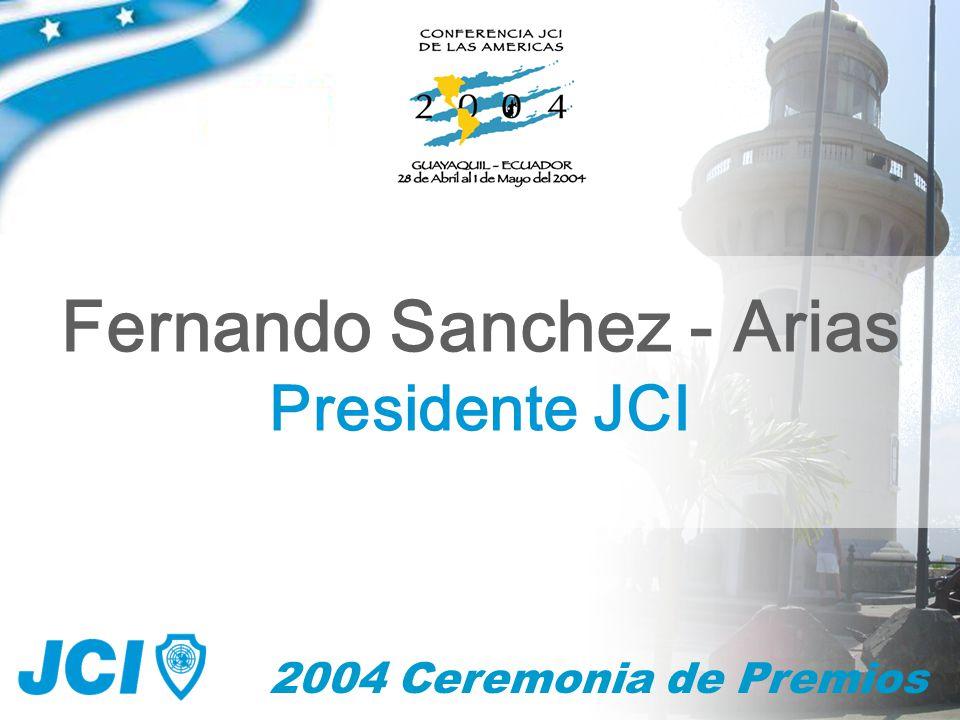 2004 Ceremonia de Premios Mejor Programa de Desarrollo Personal Best Individual Development Program Meilleur Programme de Développement Individuel