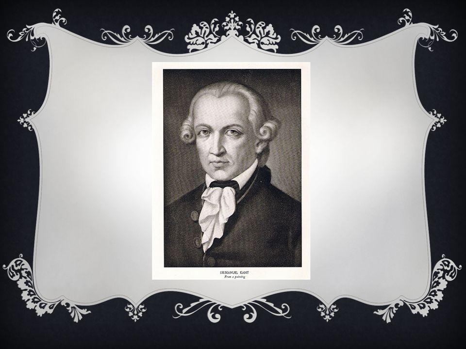 Immanuel Kant categorical imperative