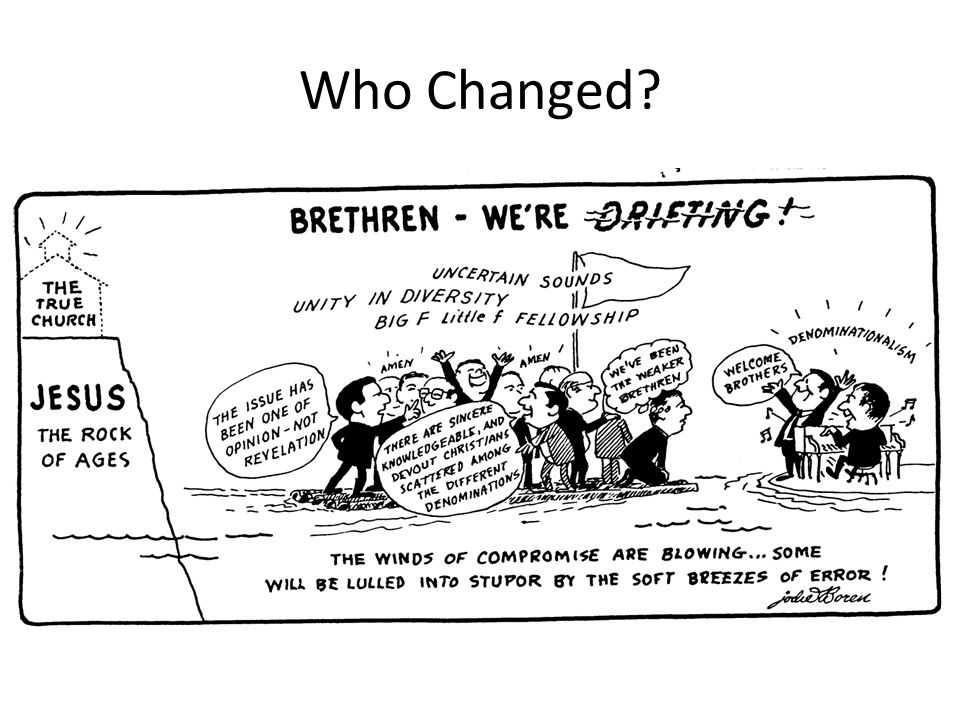 Who Changed?