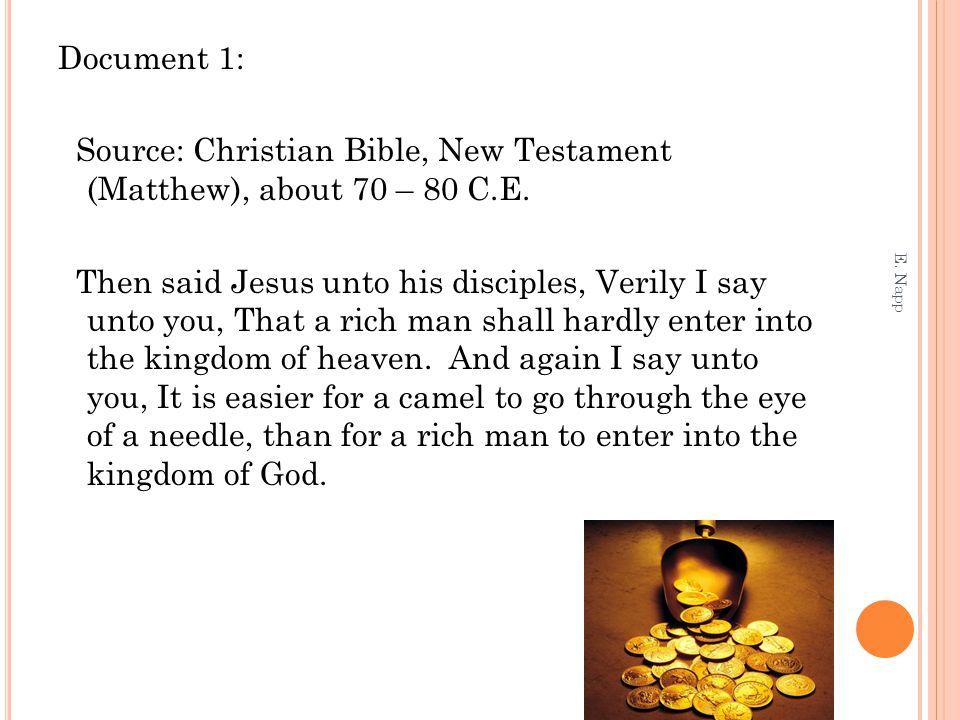 A NALYSIS OF D OCUMENT 3: E.