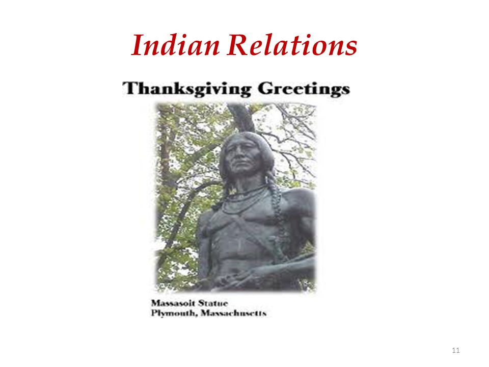 Indian Relations 11