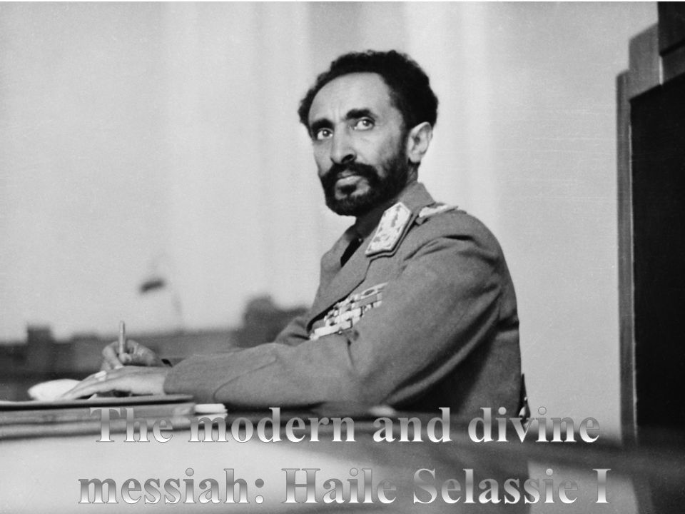 To modern Rastafari the most important doctrine is belief in the divinity of Haile Selassie I. Although some Rastafarians still regard Haile Selassie