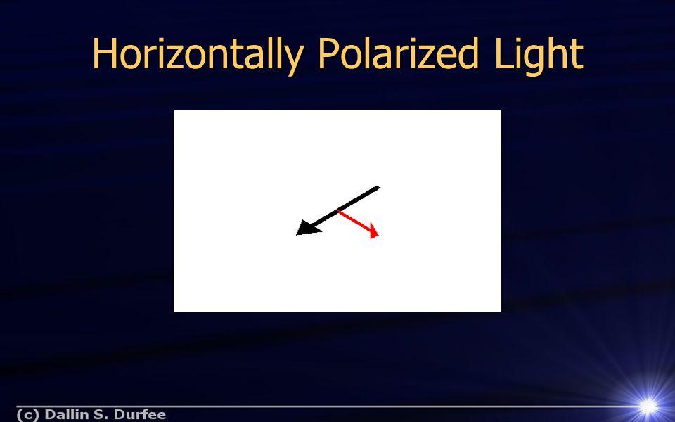 Vertically Polarized Light