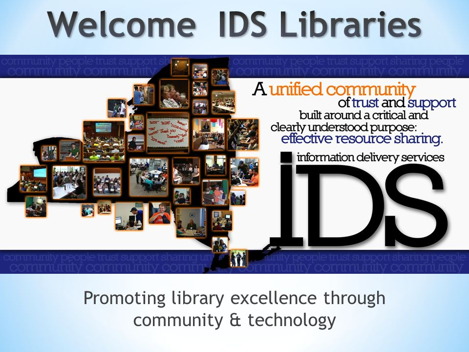 Promoting library excellence through community & technology