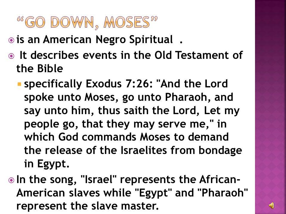  is an American Negro Spiritual.