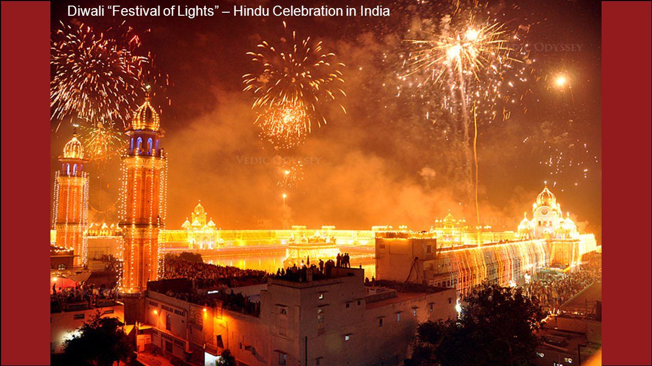 "Diwali ""Festival of Lights"" – Hindu Celebration in India"