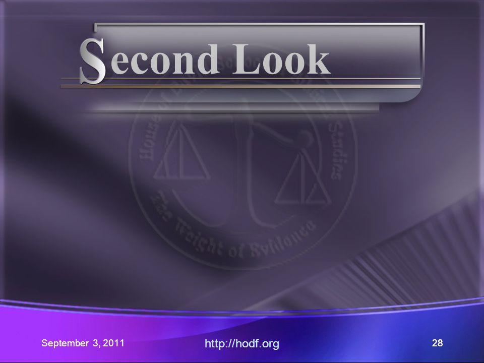 September 3, 2011 http://hodf.org 27 Romans 14: Part V Where did our journey begin.