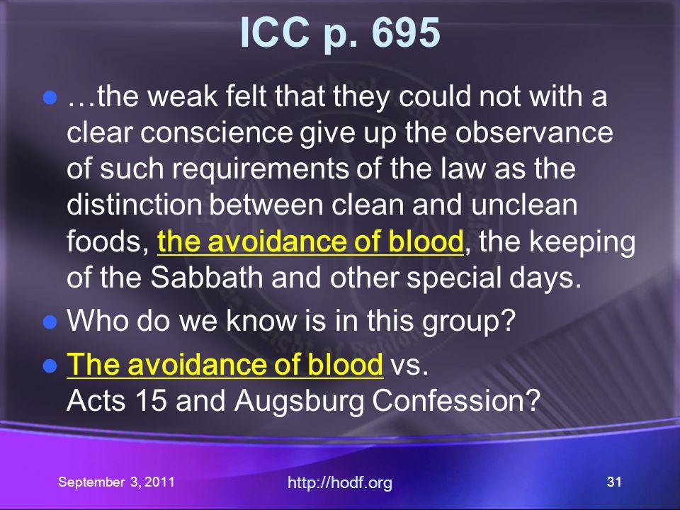 http://hodf.org 30 ICC p.