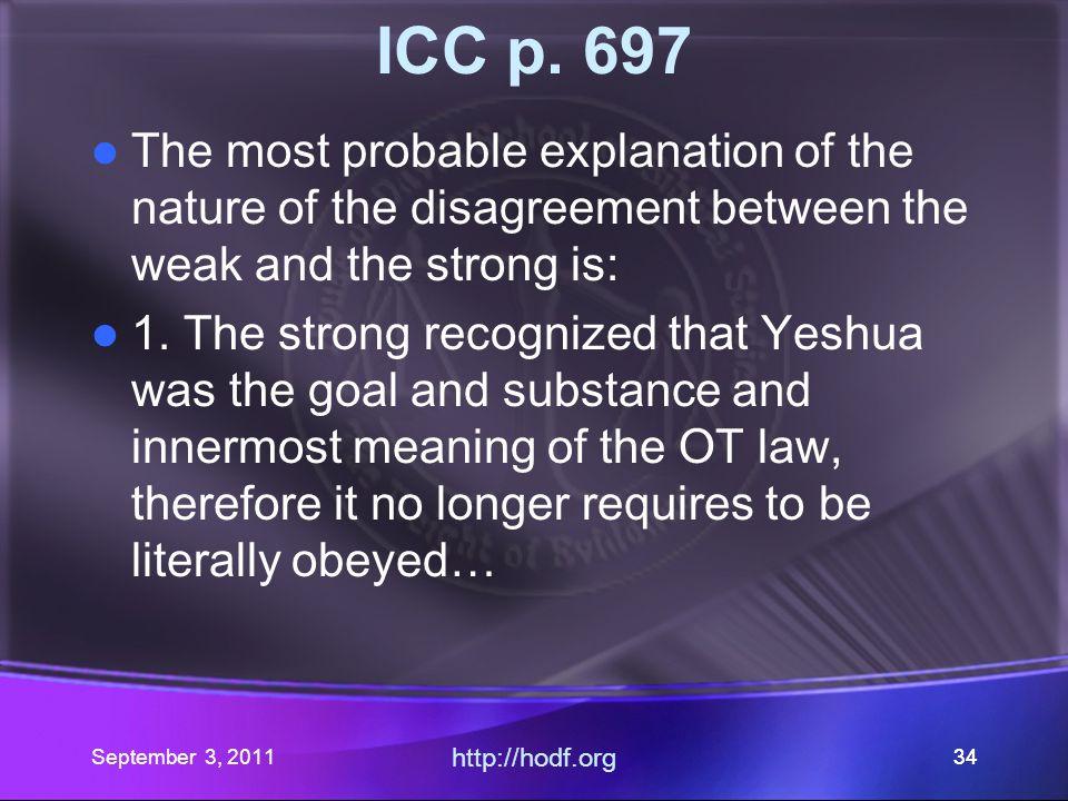 http://hodf.org 33 ICC p.