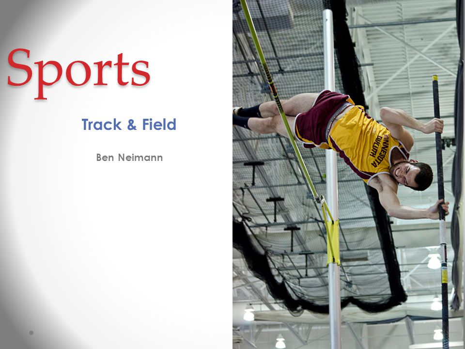 Sports Track & Field Ben Neimann