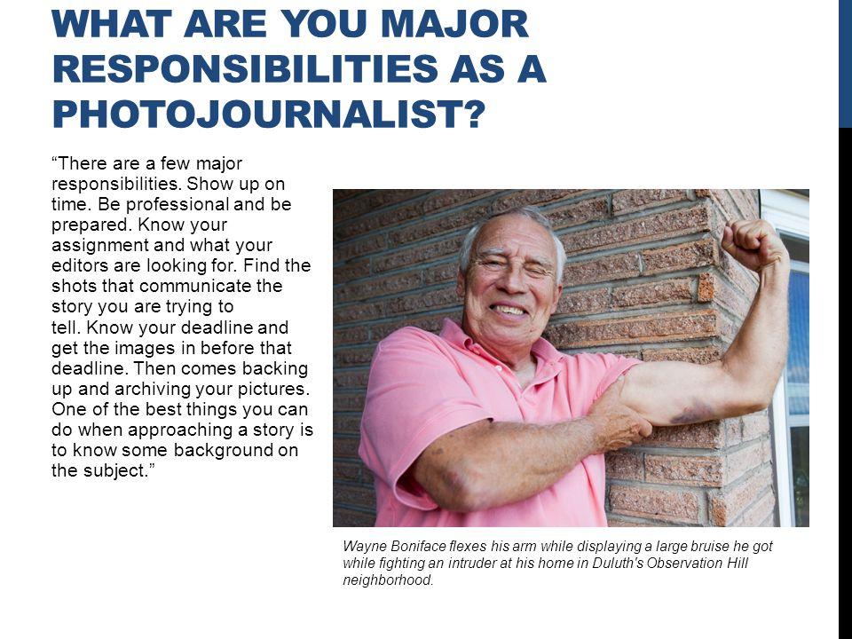 Major influences on me have been Wisconsin State Journal photographers Steve Apps, John Maniaci, Craig Schreiner, Milwaukee Journal Sentinel, photographer Joe Koshellek, and Dale Guldan, and Associated Press freelancer Andy Manis.